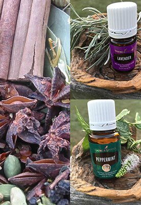 Oils and essential herbs