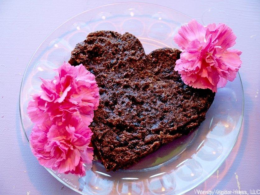 gluten free vegan berry brownies